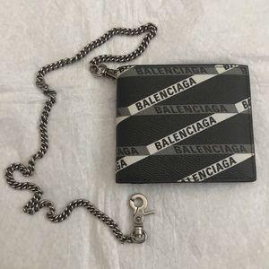 Balenciaga Chain Bi-fold Wallet